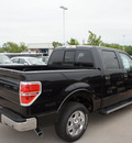 ford f 150 2011 black lariat gasoline 6 cylinders 2 wheel drive automatic 76205