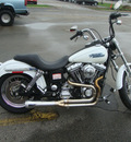 harley davidson fxdli 2004 white dyna low rider 2 cylinders 5 speed 45342