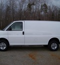 gmc savana cargo 2011 white van 2500 flex fuel 8 cylinders rear wheel drive not specified 44024