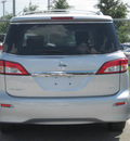 nissan quest 2011 silver van sl gasoline 6 cylinders front wheel drive automatic 33884
