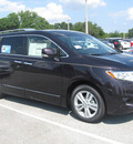 nissan quest 2011 black amethyst van sl gasoline 6 cylinders front wheel drive automatic 33884
