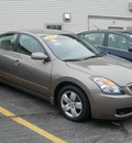 nissan altima 2008 tan sedan 2 5s gasoline 4 cylinders front wheel drive automatic 13212