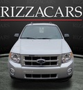 ford escape 2011 silver suv xlt flex fuel 6 cylinders front wheel drive automatic with overdrive 60546