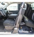 chevrolet silverado 1500 2011 silver lt flex fuel 8 cylinders 4 wheel drive 6 spd auto 77090