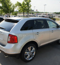 ford edge 2011 silver suv limited gasoline 6 cylinders front wheel drive shiftable automatic 76205