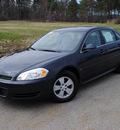 chevrolet impala 2009 gray sedan lt gasoline 6 cylinders front wheel drive 4 speed automatic 44024