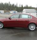 hyundai genesis 2011 dk  red sedan 3 8l v6 gasoline 6 cylinders rear wheel drive shiftable automatic 99208