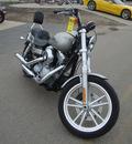 harley davidson fxdg 2009 silver super glide 2 cylinders 6 speed 45342