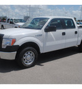 ford f 150 2011 white xl flex fuel 6 cylinders 2 wheel drive 6 speed automatic 77388