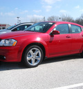 dodge avenger 2011 maroon sedan lux flex fuel 6 cylinders front wheel drive automatic 45840