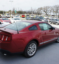 ford mustang 2012 red coupe v6 gasoline 6 cylinders rear wheel drive automatic 76205