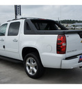chevrolet avalanche 2011 white lt flex fuel 8 cylinders 2 wheel drive automatic 77090