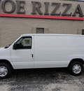 ford e 150 2011 white van advancetrac rsc flex fuel 8 cylinders rear wheel drive automatic with overdrive 60546