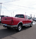 ford f 150 1998 red pickup truck sc lariat 4wd gasoline v8 4 wheel drive 4 speed automatic 55321