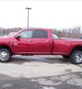 ram ram pickup 3500 2011 red diesel 6 cylinders 4 wheel drive not specified 44024