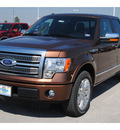 ford f 150 2011 brown platinum flex fuel 8 cylinders 2 wheel drive automatic 77388