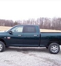 ram ram pickup 2500 2011 green gasoline 8 cylinders 4 wheel drive not specified 44024