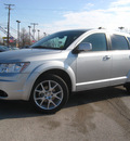 dodge journey 2011 silver crew flex fuel 6 cylinders front wheel drive automatic 45840