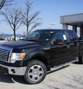 ford f 150 2011 black xlt v8 4 wheel drive automatic 76205