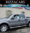 ford f 150 2011 gray xlt 4x4 flex fuel 8 cylinders 4 wheel drive automatic with overdrive 60546