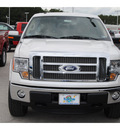 ford f 150 2011 white lariat v8 4 wheel drive automatic 77388