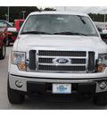 ford f 150 2011 white lariat v8 4 wheel drive automatic 77388