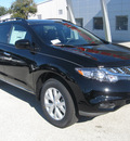 nissan murano 2011 black sl gasoline 6 cylinders front wheel drive automatic 33884