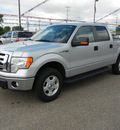 ford f 150 2010 silver pickup truck xlt scw 4wd flex fuel 8 cylinders 4 wheel drive automatic 55321