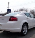 dodge avenger 2011 white sedan mainstreet gasoline 4 cylinders front wheel drive not specified 44024