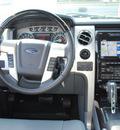 ford f 150 2011 white platinum platinum flex fuel 8 cylinders 2 wheel drive automatic 76205