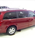 dodge grand caravan 2011 red van crew flex fuel 6 cylinders front wheel drive not specified 44024