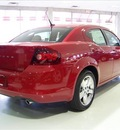dodge avenger 2011 red sedan lux flex fuel 6 cylinders front wheel drive not specified 44024