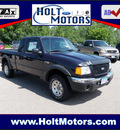 ford ranger 2002 blue xlt fx4 6 cylinders 4 wheel drive automatic with overdrive 55321
