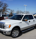 ford f 150 2011 white xlt flex fuel 8 cylinders 2 wheel drive automatic 76205