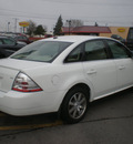 ford taurus 2008 white sedan sel gasoline 6 cylinders front wheel drive automatic with overdrive 13212