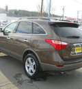 hyundai veracruz 2011 sahara bronze wagon limited gasoline 6 cylinders all whee drive 6 speed automatic 99208