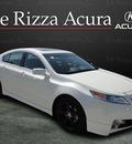 acura tl 2011 white sedan sh awd tech gasoline 6 cylinders all whee drive automatic with overdrive 60462