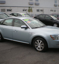 ford taurus 2008 lt blue sedan sel gasoline 6 cylinders front wheel drive automatic with overdrive 13212