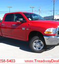 dodge ram pickup 2500 2011 flame red slt gasoline 8 cylinders 4 wheel drive automatic 45840