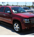 chevrolet tahoe 2011 red suv ltz flex fuel 8 cylinders 2 wheel drive automatic with overdrive 77090