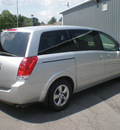 nissan quest 2008 silver van gasoline 6 cylinders front wheel drive automatic with overdrive 13212