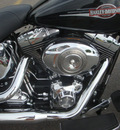 harley davidson flstc 2008 black heritage soft class 2 cylinders 5 speed 45342