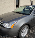 ford focus 2011 gray sedan se gasoline 4 cylinders front wheel drive automatic with overdrive 60546