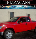 ford f 150 2010 red xlt 4x4 flex fuel 8 cylinders 4 wheel drive automatic with overdrive 60546