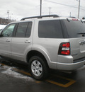 ford explorer 2008 silver suv xlt gasoline 6 cylinders 4 wheel drive automatic with overdrive 13212