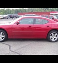 dodge charger 2010 dk  red sedan sxt gasoline 6 cylinders rear wheel drive automatic 44024