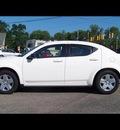 dodge avenger 2010 white sedan sxt gasoline 4 cylinders front wheel drive automatic 44024