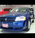 dodge avenger 2010 blue sedan sxt gasoline 4 cylinders front wheel drive automatic 44024