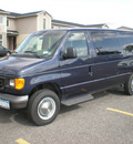 ford e 350 2006 blue van super duty gasoline 8 cylinders rear wheel drive automatic with overdrive 13212