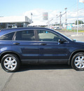 honda cr v 2008 blue suv ex gasoline 4 cylinders all whee drive automatic 13502